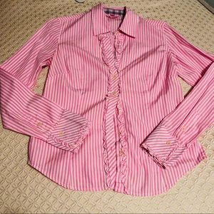Lilly Pulitzer Striped Button Up